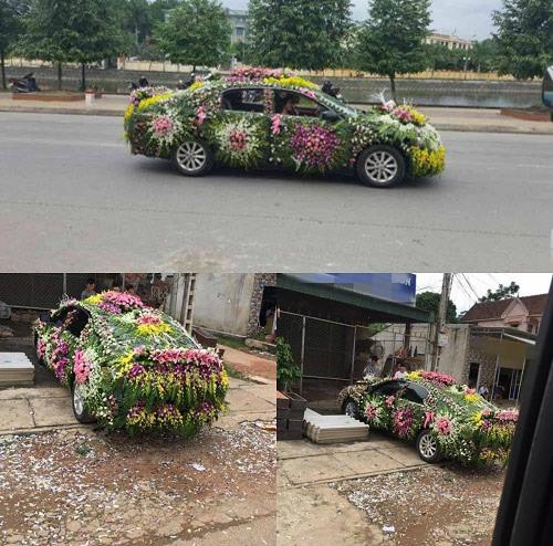 Đúng nghĩa xe hoa.