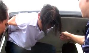 Kẻ giết hai mẹ con cúi đầu khi dẫn giải về Bà Rịa - Vũng Tàu