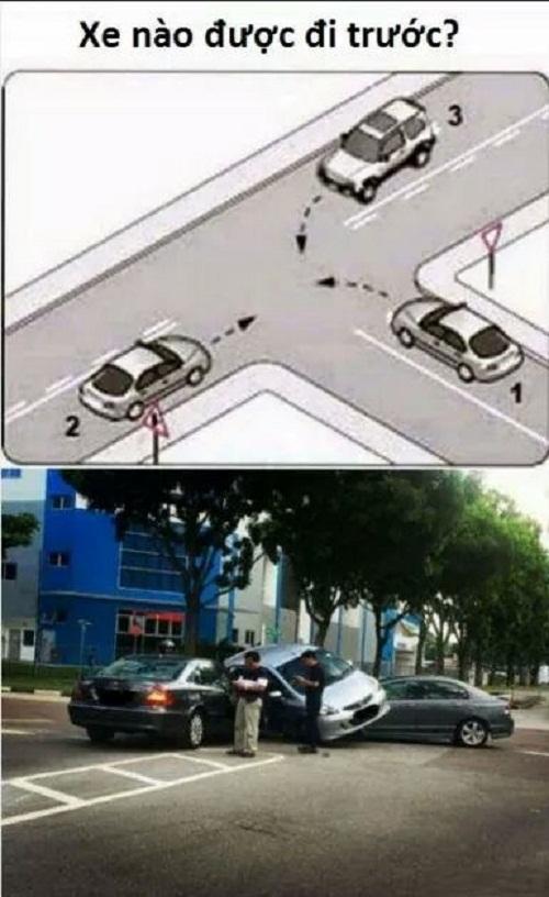 Hậu quả của việc không tuân thủ luật giao thông.