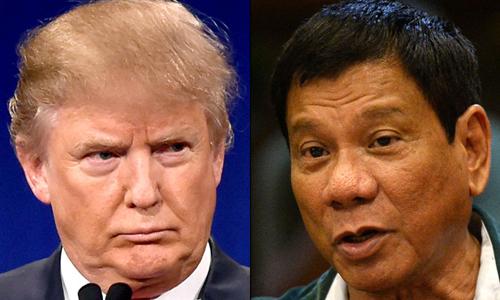 Sự tương đồng giữa Trump và 'bản sao châu Á' Duterte