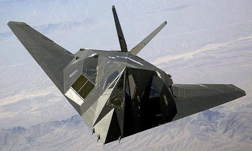 Máy bay tàng hình F-117 của không quân Mỹ. Ảnh: USAF