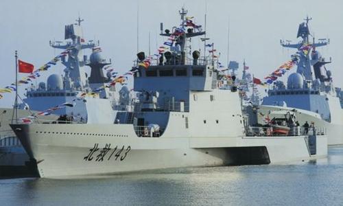 Malaysia có thể sắp mua tàu tác chiến ven biển của Trung Quốc. Ảnh minh họa: PLA.