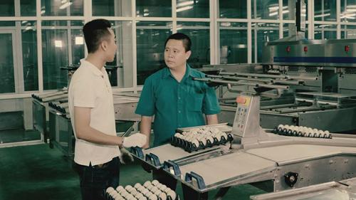 Dây chuyền sản xuất tự động hóa bên trong nhà máy của Tập đoàn Dabaco. Ảnh: bizmedia