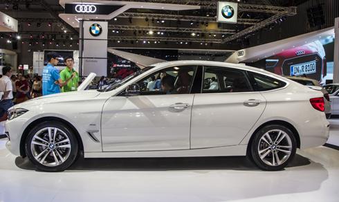 BMW 320i GT thay đổi ngoại thất .
