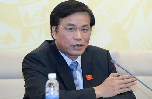 Tổng thư ký Quốc hội: 'Việc cách chức ông Vũ Huy Hoàng có tính răn đe'