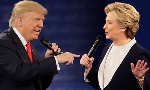 Giới cờ bạc đặt cửa ông Trump sẽ trở thành tổng thống thứ 45 ở Mỹ. Ảnh: AP.