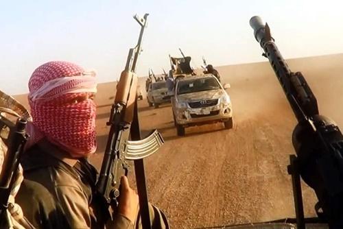 Phiến quân Nhà nước Hồi giáo. Ảnh: IS.