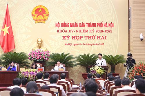 Kỳ họp thứ 3 HĐND Hà Nội sẽ xem xét quy hoạch trục giao thông mới