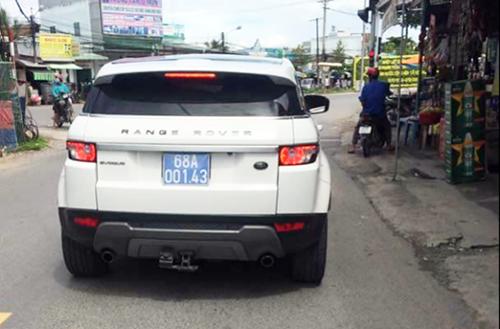 Công an Kiên Giang: 'Xe Range Rover biển xanh là tang vật vụ buôn lậu'