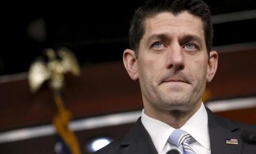 Chủ tịch Hạ viện Mỹ Paul Ryan. Ảnh: Reuters.