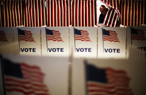 Người Mỹ sẽ bỏ phiếu chọn tổng thống vào ngày 8/11 tới. Ảnh: AP