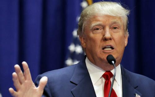 Donald Trump, Tổng thống thứ 45 của Mỹ. Ảnh: Reuters.
