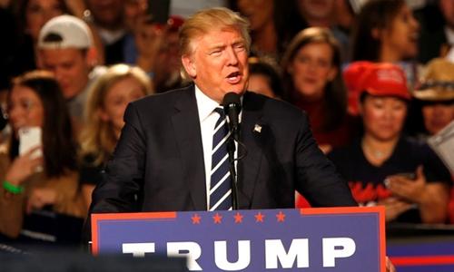 Donald Trump nói cảm thấy buồn khi không được George Bush ủng hộ, song nhấn mạnh việc này không gây ảnh hưởng chiến dịch tranh cử tổng thống. Ảnh minh họa: Reuters.
