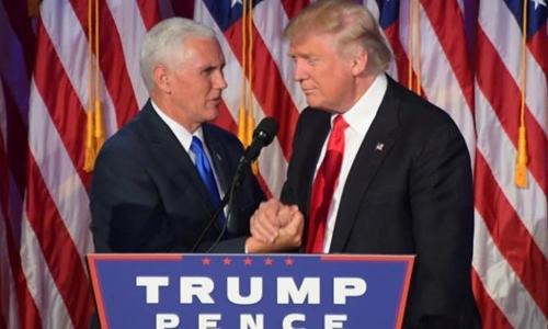 Mike Pence, phó tướng của Donald Trump. Ảnh: Telegraph.