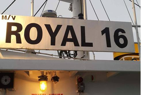 Hình ảnh tàu Royal 16.