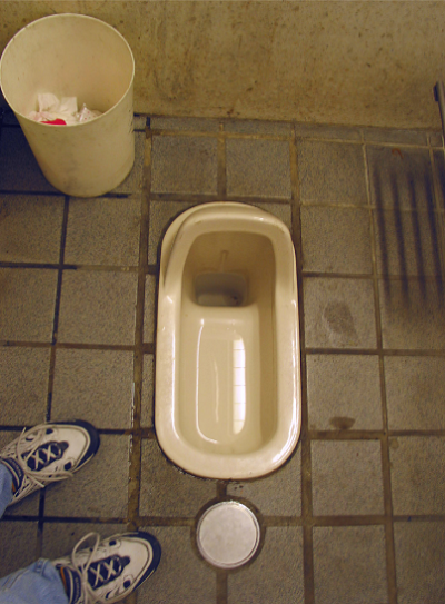 Nhật Bản khảo sát toilet ở trường học - ảnh 1
