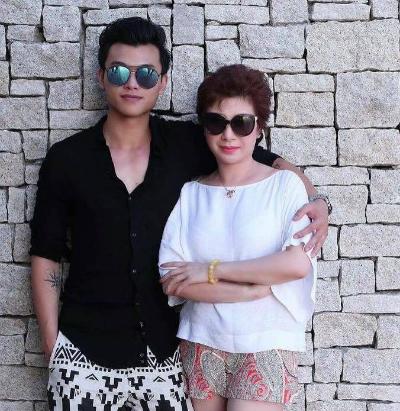 Chủ Tịch HĐQT  Tập đoàn Thanh Hằng,  và con trai, CEO Nguyễn Thế Anh