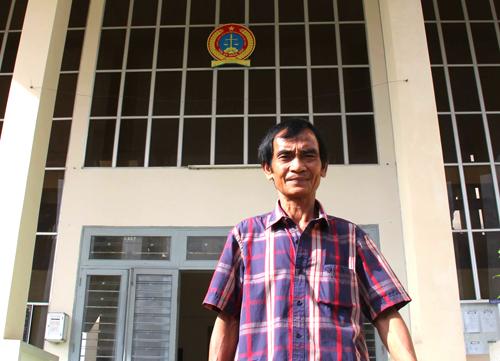 Ông Nén mà Tóa án Bình Thuận, đơn vị gây oan sai cho ông vẫn chưa có tiếng nói chung trong các mức bồi thường. Ảnh: Phước Tuấn