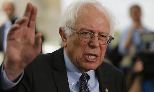 Ông Bernie Sanders. Ảnh: Reuter.s