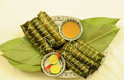 Món bánh tẻ nức tiếng của làng Chờ. Ảnh: phungdung61094