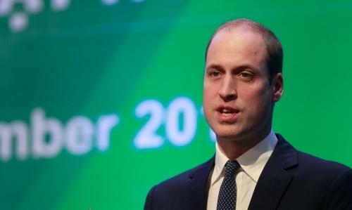 Hoàng tử Anh phát biểu trong phiên khai mạc hội nghị. Ảnh: Reuters