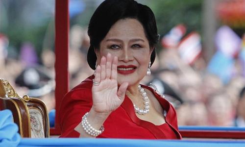Hoàng hậu Thái Lan Sirikit. Ảnh: Reuters.