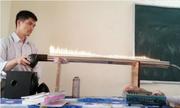 Thầy giáo gây sốt khi dùng ống nhạc lửa để dạy vật lý
