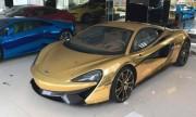 Siêu xe McLaren 12 tỷ độ vàng độc nhất Việt Nam