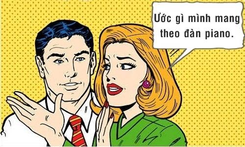Chồng choáng váng trước điều ước của vợ -10 truyện cười hot nhất tuần qua