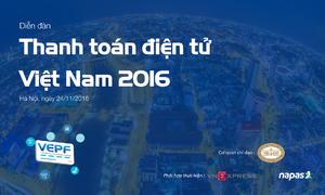 VEPF 2016 bàn về thanh toán điện tử trong lĩnh vực giao thông