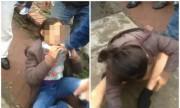 Nữ quái cởi quần chạy trốn khi bị bắt quả tang móc túi