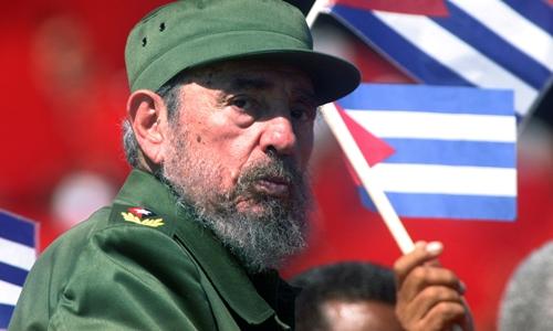 Cựu chủ tịch Cuba Fidel Castro. Ảnh: Reuters.