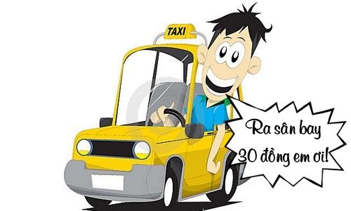 Cách đi taxi giá rẻ