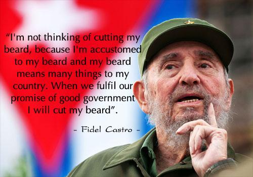 Học tiếng Anh qua những câu nói nổi tiếng của Fidel Castro