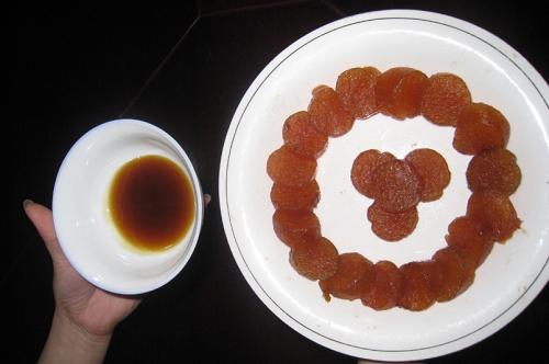 Bánh nẳng Làng Dòng. Ảnh: langdong.com.