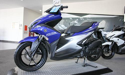 NVX công bố giá bán tại nhà máy Yamaha, Nội Bài.
