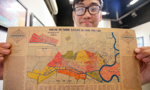 Sài Gòn từ thời thành Bát Quái đến 1975 qua bản đồ