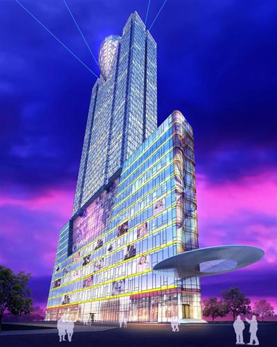 5.300 tỷ xây tòa tháp 4 mặt tiền ở trung tâm Sài Gòn - ảnh 1