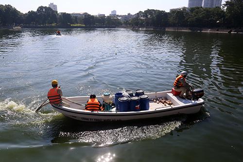 Chế phẩm độc quyền giúp làm sạch 80 hồ ô nhiễm - ảnh 2