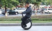 Xe điện một bánh độc nhất Việt Nam