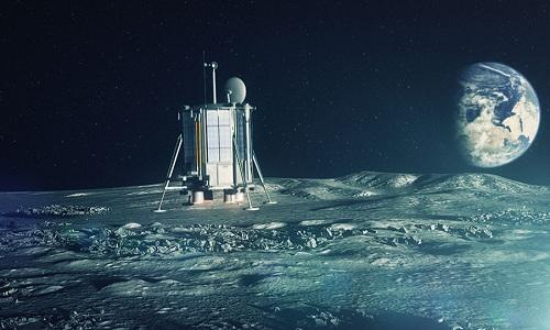 Con người có thể lên Mặt Trăng du lịch trong 10 năm tới. Ảnh minh họa: Lunar Mission One.