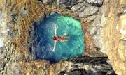 Bể bơi tự nhiên chỉ dành cho một người tắm ở Brazil