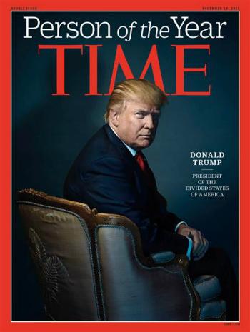 Trang bìa của tạp chí Time. Ảnh: Time