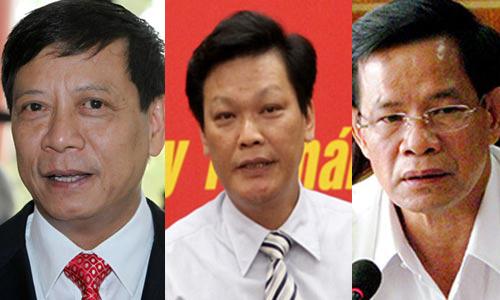 Ba cán bộ cấp cao bị kỷ luật vì liên quan vụ Trịnh Xuân Thanh