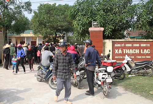 Ẩu đả sau cuộc họp chia tiền đền bù, hơn 300 người vây trụ sở xã