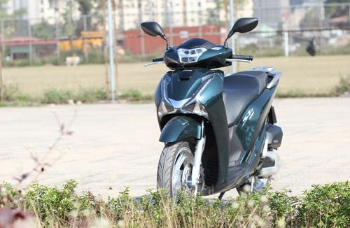Honda SH mới - thiết kế lấn át công nghệ