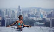 Bể bơi vô cực ngắm toàn cảnh Singapore