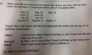 Bài toán đố ngày sinh nhật ở Singapore làm đau đầu mạng xã hội