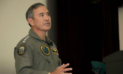 Đô đốc Mỹ Harry Harris. Ảnh: Reuters