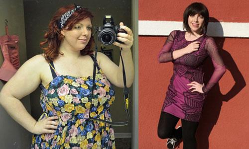 Diện mạo của Haleigh trước và sau khi giảm cân, phẫu thuật thẩm mỹ. Ảnh: